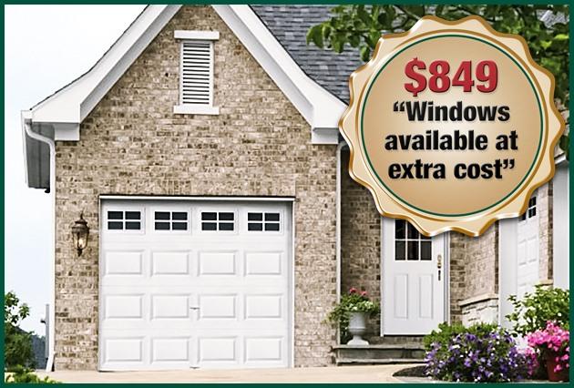 $849 Garage Door Special